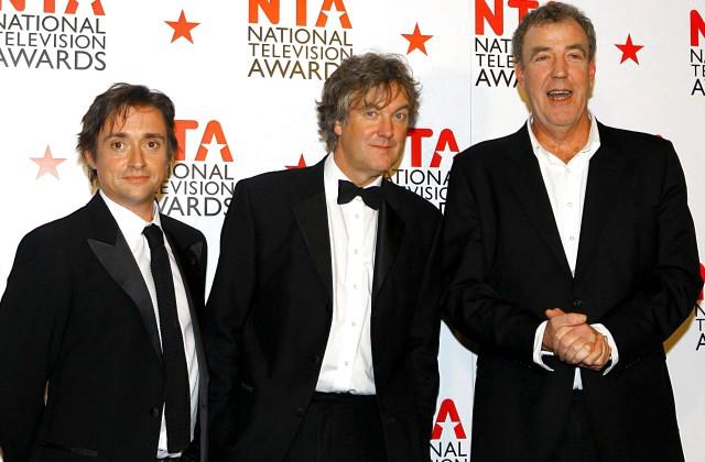 Top Gear vadītāji: Ričards Hamonds, Džeimss Mejs un Džeremijs Klārksons