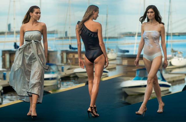 Pludmales apģērbu zīmols SLOW beachwear atklāj kolekcijas LINES un COUTURE