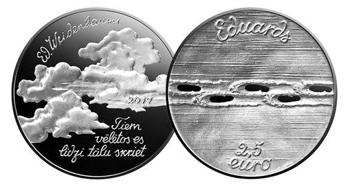 Latvija, 2.5 euro monēta