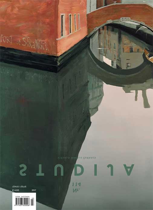 Aleksejs Naumovs «Comfort of Stranger» (audekls, akrils, 170 x 140 cm, 2005)