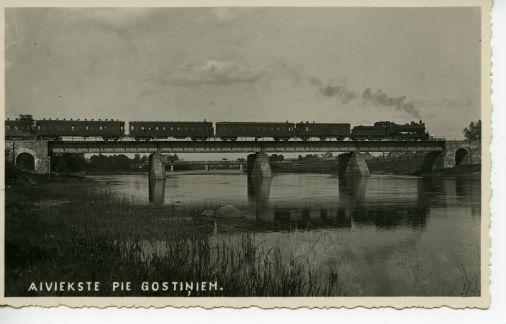 Foto no Latvijas dzelzceļa vēstures muzeja krājuma