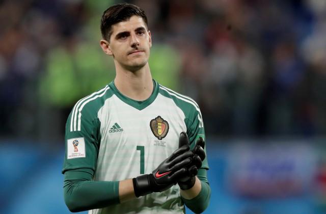 Beļģijas futbola valstsvienības vārtsargs Tibo Kurtuā