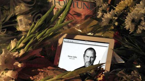 Stīvu Džobsu piemin ne tikai Apple produkcijas lietotāji visā pasaulē