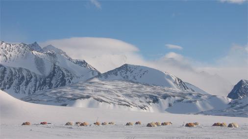 Antarktīdā šobrīd ir polārā nakts