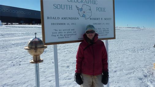 Inga Antarktīdā jau pavadījusi četras sezonas