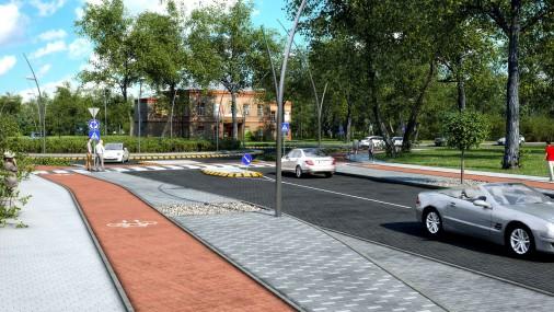 Gaujas ielas projekta vizualizācija