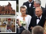 Tā miljonārs Maligins apprecēja savu mīļo Elīnu. FOTO