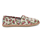 TOMS Watermelon Rope Sole Womens Alpargata