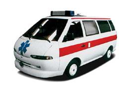 RAF Stils kā neatliekamās medicīniskās palīdzības auto
