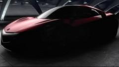 Detroitā debitēs jaunā NSX