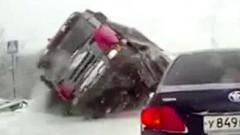 Jauns video: satiksmes neprāts Krievijā