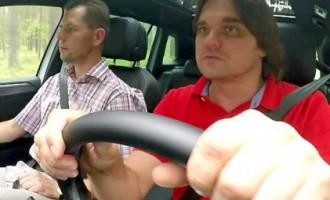 Artis Robežnieks par jaudu, sarkano krāsu un jauno VW Tiguan!