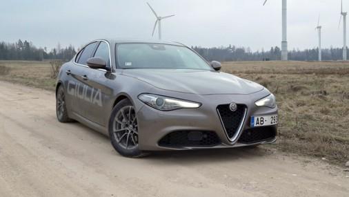 Pirmie iespaidi: Alfa Romeo Giulia