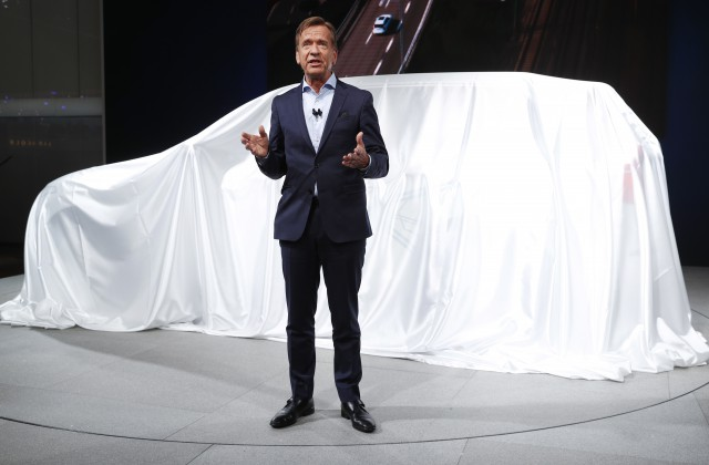 Volvo Cars Corporation AB prezidents Hakans Samuelsons