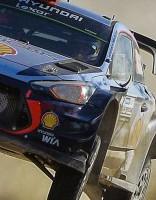WRC posms Argentīnā: uzvara 0,7 sekunžu vērtībā
