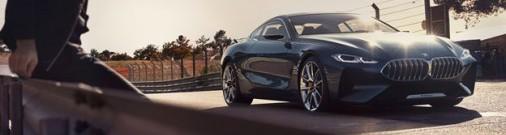 Oficiālie foto: BMW 8.sērijas kupejas konceptuālā versija