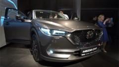 Kā noritēja jaunās Mazda CX-5 prezentācija Rīgā