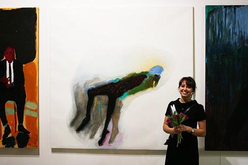 Jaunā gleznotāja nenoliedz, ka viņas darbā var saskatīt līdzības ar mākslas vēsturē zināmiem vārdiem, taču uzsver, ka viņas glezna noteikti nav plaģiāts