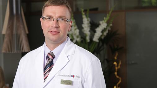 Dr. Mauriņa Vēnu klīnikas ķirurgs flebologs Ints Bruņenieks