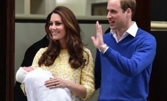 Keita un Viljams atrāda mazo princesi!