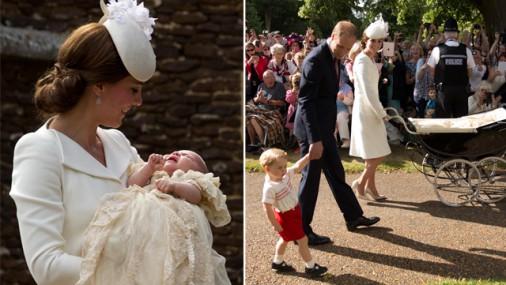 Foto: Mazās princeses Šarlotes kristības