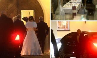 Lemberga kāzas: oranžiem ziediem rotātas, pieticīgas un ģimeniskas