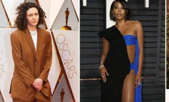 ...un briesmīgākās «Oskara» kleitas nominācija pienākas...