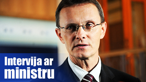 Finanšu ministrs Andris Vilks