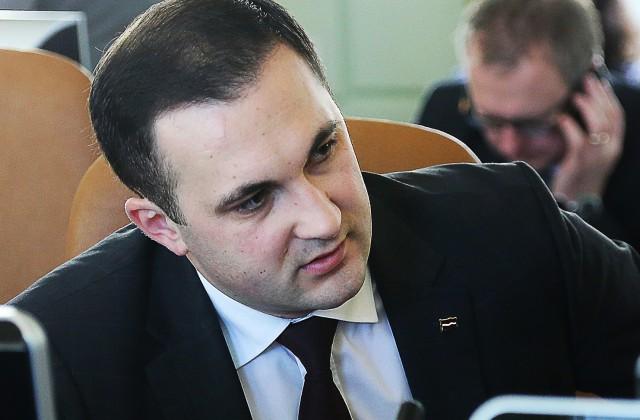 Vides aizsardzības un reģionālās attīstības ministrs Romāns Naudiņš