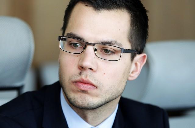"""""""Krājbankas"""" administratora sabiedrisko attiecību konsultants Oskars Fīrmanis"""