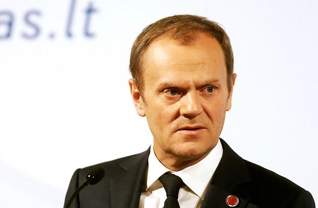 Eiropas Savienības Padomes prezidents Donalds Tusks