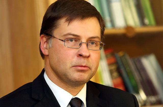 EP deputāts Valdis Dombrovskis