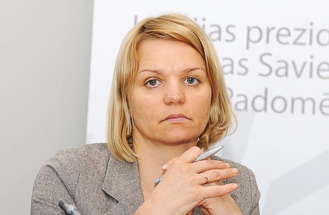 Saeimas Eiropas lietu komisijas priekšsēdētāja Lolita Čigāne