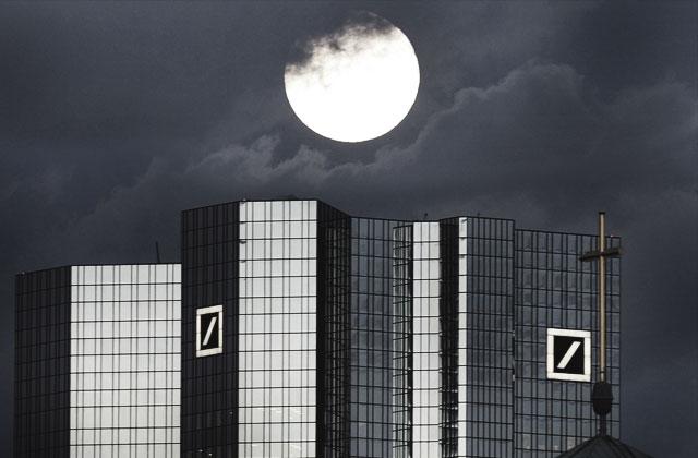 Deutsche Bank mītne Frankfurtē (Vācija)