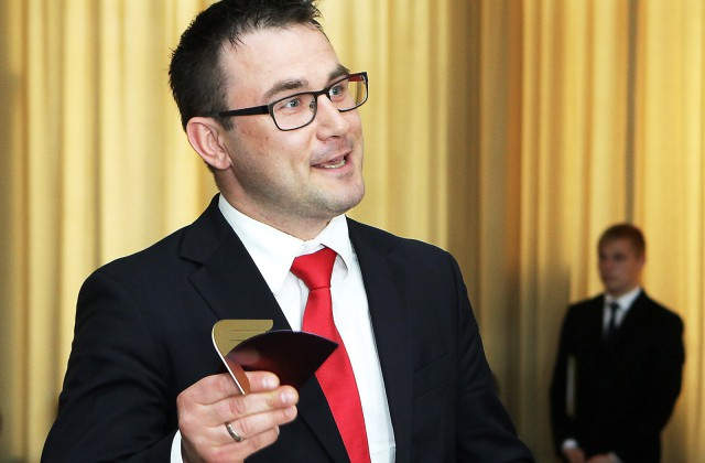 """AS """"Dobeles dzirnavnieks"""" valdes priekšsēdētājs Kristaps Amsils"""
