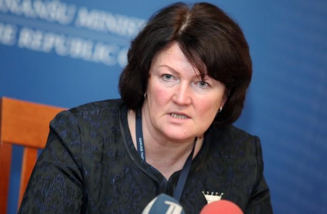 Valsts ieņēmumu dienesta ģenerāldirektore Ināra Pētersone