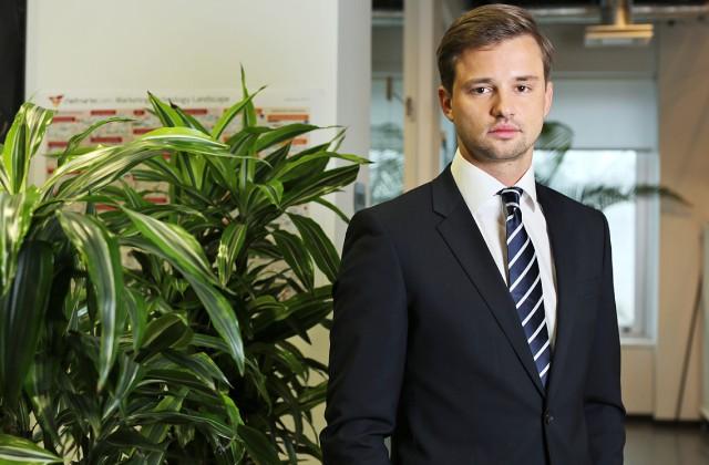 """4finance"""" izpilddirektors Toms Jurjevs"""