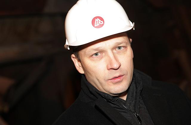 """""""Liepājas metalurga"""" maksātnespējas administrators Haralds Velmers"""