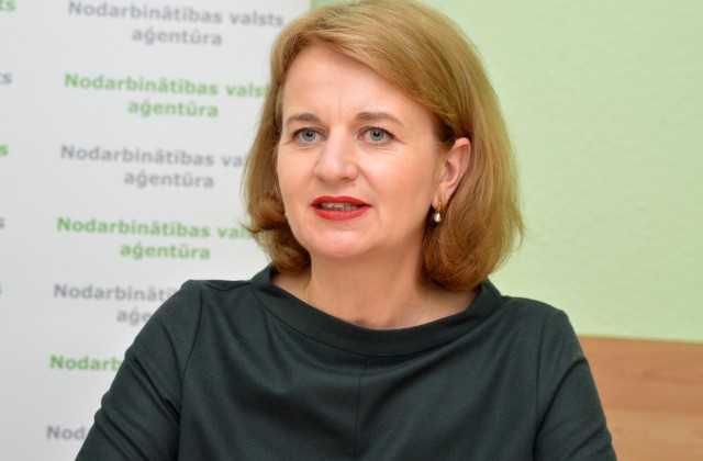 Nodarbinātības valsts aģentūras vadītāja Evita Simsone