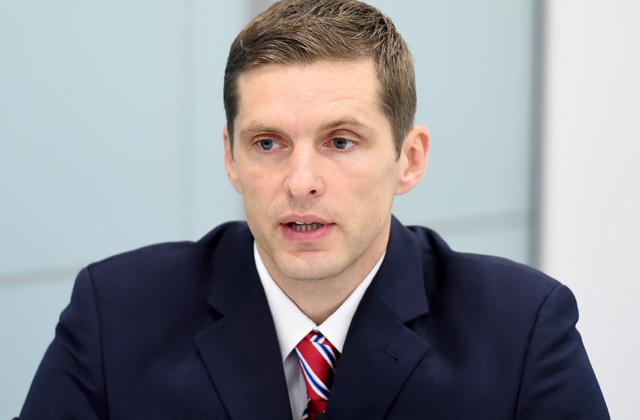 """SEB bankas"" makroekonomikas eksperts Dainis Gašpuitis"