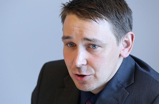 """""""Ergo"""" Risku parakstīšanas nodaļas vadītājs Ritvars Heniņš"""