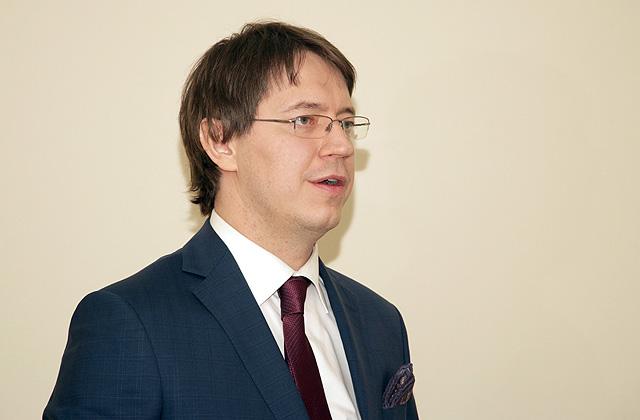 """VAS """"Latvijas pasts"""" valdes priekšsēdētājs Mārcis Vilcāns"""