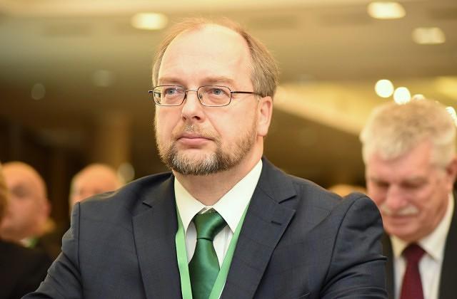 Latvijas Brīvo arodbiedrību savienības vadītājs Egils Baldzēns