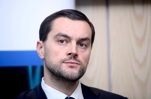 """AS """"Attīstības finanšu institūcija """"Altum"""""""" valdes priekšsēdētājs Reinis Bērziņš"""