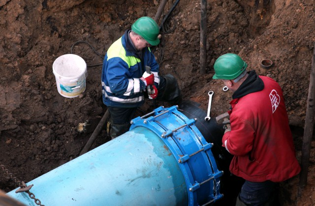 Ūdensvada remontdarbi (Ilustratīvs foto)