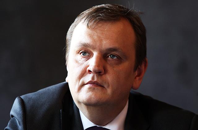 """Farmācijas uzņēmuma AS """"Olainfarm"""" valdes loceklis Salvis Lapiņš"""