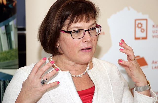 Latvijas Informācijas un komunikācijas tehnoloģijas asociācijas prezidente Signe Bāliņa