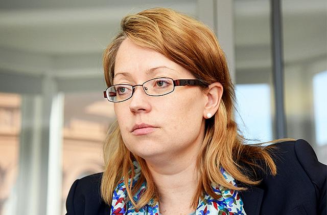 Latvijas Komercbanku asociācijas valdes priekšsēdētāja Sanda Liepiņa