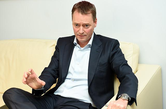 """""""Ventspils naftas"""" valdes priekšsēdētājs Roberts Kirkups"""