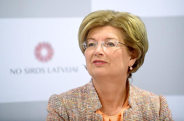 """Partijas """"No sirds Latvijai"""" priekšsēdētāja Inguna Sudraba"""